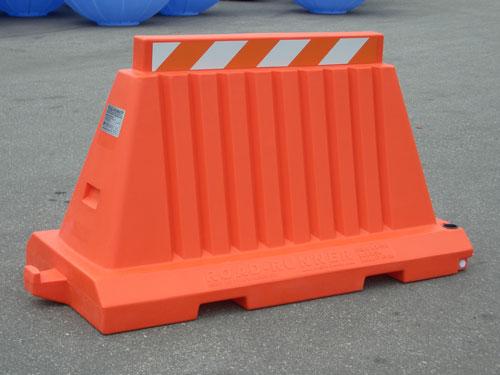 Traffic Barricade features Premier Plastics