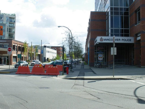 Traffic Barricades road block Premier Plastics Vancouver
